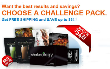 Choose a Beachbody Challenge Pack